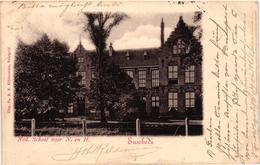 The Netherlands, Enschede, Enschedé, Ned. School Voor N. En H., Old Postcard 1903 - Enschede