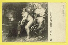 * Brussel - Bruxelles - Brussels * (Nels, Ern Thill) Musée De Bruxelles, Museum, PP Rubens, Vénus Dans Le Forges Vulcain - Musea