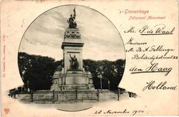The Netherlands, Den Haag, S-Gravenhage, National Monument, Old Postcard 1900 - Den Haag ('s-Gravenhage)