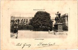 The Netherlands, Den Haag, S-Gravenhage, Ruiterstandbeeld, Old Postcard 1901 - Den Haag ('s-Gravenhage)