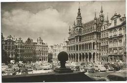 W918 Bruxelles Brussel - Grand Place Grote Markt - Auto Cars Voitures / Viaggiata 1958 - Piazze