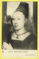 * Brussel - Bruxelles - Brussels * (Nels, Ern Thill) Musée De Bruxelles, Museum, Memling, Portrait Barbara Vlanderbergh - Musea