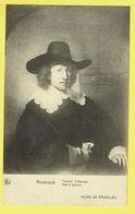 * Brussel - Bruxelles - Brussels * (Nels, Ern Thill) Musée De Bruxelles, Museum, Rembrandt, Portrait D'homme, Art - Musea
