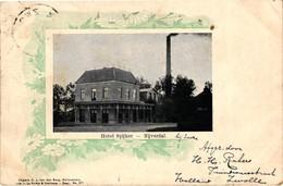 The Netherlands, Nijverdal, Hotel Spijker, Old Postcard 1902 - Nijverdal