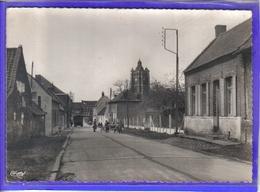 Carte Postale 59. Bersée Rue St-Nicolas Très Beau Plan - Otros Municipios
