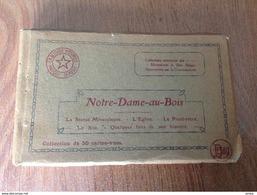 Notre Dame Au Bois Carnet De 50 Cartes Postales - Cartes Postales