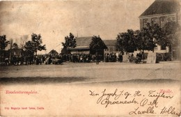 The Netherlands, Zwolle, Roodentorenplein, Old Postcard 1902 - Zwolle