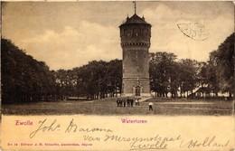 The Netherlands, Zwolle, Watertoren, Old Postcard 1902 - Zwolle