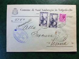 (15649) STORIA POSTALE ITALIA 1955 - 1946-.. République