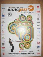 Affiche MALBURET Paul Festival Nancy Jazz Pulsations 2010 - Affiches & Offsets