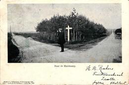 The Netherlands, Naar De Harskamp, Old Postcard Pre. 1905 - Netherlands