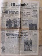 Journal L'Humanité (8 Sept 1967) J Greco - - 1950 - Today