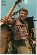 Carte Signée Chanteur Johnny HALLYDAY - Chanteurs & Musiciens