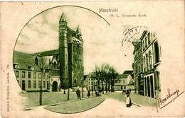 The Netherlands, Maastricht, O. L. Vrouwen Kerk, Old Postcard 1902 - Maastricht