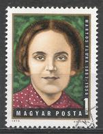 Hungary 1972. Scott #2186 (U) Flora Martos (1897-1938), Hungarian Labor Party Leader ** - Hungary