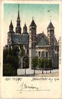 The Netherlands, Maastricht, Het Vrijhof, Old Postcard 1902 - Maastricht