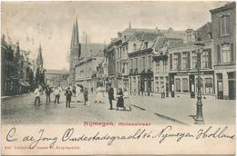 The Netherlands, Nijmegen, Molenstraat, Old Postcard 1901 - Nijmegen