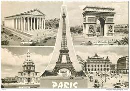 Photo Cpsm Cpm 75 PARIS. Tampon Sommet Tour Eiffel 1967 - Tour Eiffel