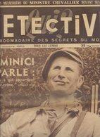DETECTIVE Du 27/10/52....affaire  DOMINICI à LURS....box 040219030 - 1950 à Nos Jours