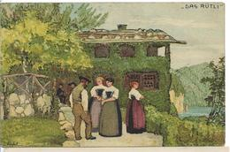 1913 BUNDESFEIER DAS RÜTLI FETE NATIONALE CONTRE LA TUBERCULOSE - Switzerland