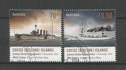 Cocos Keeling 2014 WWI Centenary Y.T. 481/482 (0) - Cocos (Keeling) Islands
