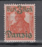 Danzig 1920,Mi 44-II,Freimarke,Spitzen Nach Unten,postfrisch Mit Falz/Ongebruikt(D2656) - Dantzig