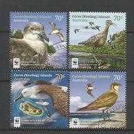 Cocos Keeling 2015 WWF Birds Y.T. 487/490 (0) - Cocos (Keeling) Islands