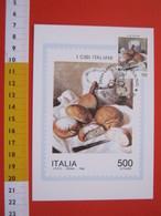 A.07 ITALIA ANNULLO - 1994 CARPIGNANO SESIA NOVARA CIBO CIBI IL PANE BREAD DIPINTO QUADRO COLTELLO FARINA MAXIMUM 1 - Alimentazione