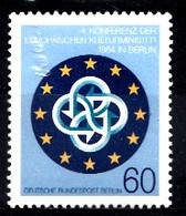 Allemagne Berlin 1984 Mi.nr: 721 Konferenz Der Europäischen Kulturminister,Berlin  Neuf Sans Charniere /MNH / Postfris - [5] Berlijn