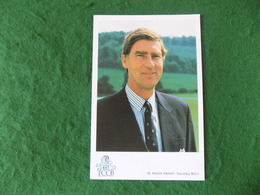 SPORT CRICKET: Roger Knight MCC Colour Stamp Publicity - Cricket