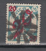 Danzig 1922,Mi 107,Freimarke Mit Korkstempel,10-blättrig Rosetten,(D2657) - Dantzig