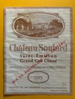 9944 - Château Soutard 1973 Saint-Emilion - Bordeaux
