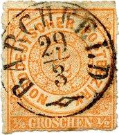 THURN UND TAXIS K1 BARCHFELD VOLL AUF NDP 1/2 Gr. ORANGE, Nr. 3, SEM + 30,- - Thurn Und Taxis