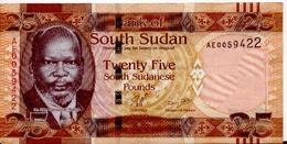 SOUTH SUDAN P.  8 25 P 2011 XF - South Sudan