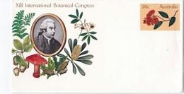 Enveloppe Entier Postal D' Australie Champignon - Pilze