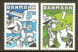 DANEMARK N°1504/1505** (europa 2008) - COTE 5.20 € - 2008