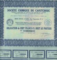 STE CHIMIQUE DU CAOUTCHOUC ( OBLIGATION) - Azioni & Titoli