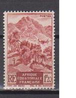 A  E  F        N°  YVERT  :    215   NEUF AVEC  CHARNIERES      ( Ch 1/07  ) - A.E.F. (1936-1958)