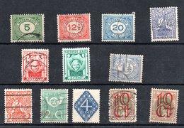 Pays Bas /  Lot De Timbres Anciens / Etats Divers - Collections