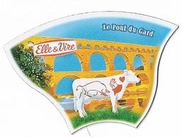 Magnets - Vaches - Elle & Vire - Le Pont Du Gard - - Animaux & Faune
