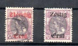 Pays Bas / N 94 Et 95 / Oblitérés - 1891-1948 (Wilhelmine)
