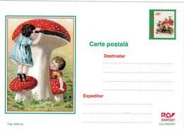 Entier Postal De Roumanie, Thème Champignon - Pilze