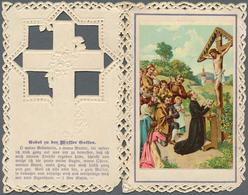 Heiligen- Und Andachtsbildchen: HEILIGEN- & ANDACHTSBILDCHEN, Dekorative Sammlung Mit über 300 Bildc - Andachtsbilder
