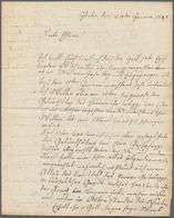 Varia (im Ansichtskartenkatalog): REISEBERICHTE / BRIEFE Von Isaac KÖCHLIN 1808/1809 Aus Der Schweiz - Andere Sammlungen