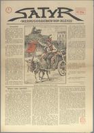 Varia (im Ansichtskartenkatalog): ZEITUNGEN, Deutschland, Revolution Berlin 1918, 2 Ausgaben Der Zei - Andere Sammlungen
