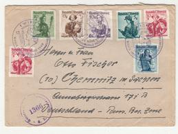 Wiener Internationale Frühjahrs-Messe 1949 Special Pmk On Letter Cover Censored Travelled B190201 - 1945-60 Briefe U. Dokumente