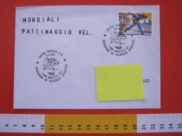 A.07 ITALIA ANNULLO - 1995 TRENTO CAMPIONATO MONDIALE MASCHILE PATTINAGGIO GHIACCIO SPORT INVERNALI - Inverno
