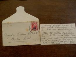 Oud Visitekaartje 1928 Met Omslag     En Omslag   Naar    BAELEN -  WEZEL   Vanuit TURNHOUT  Met Zegel - Visitekaartjes