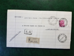 (15681) STORIA POSTALE ITALIA 1963 - 1961-70: Storia Postale
