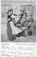 FIDELES QUARTIER → Humorkarte Anno 1909 - Non Classés